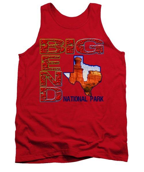 Big Bend National Park Tank Top