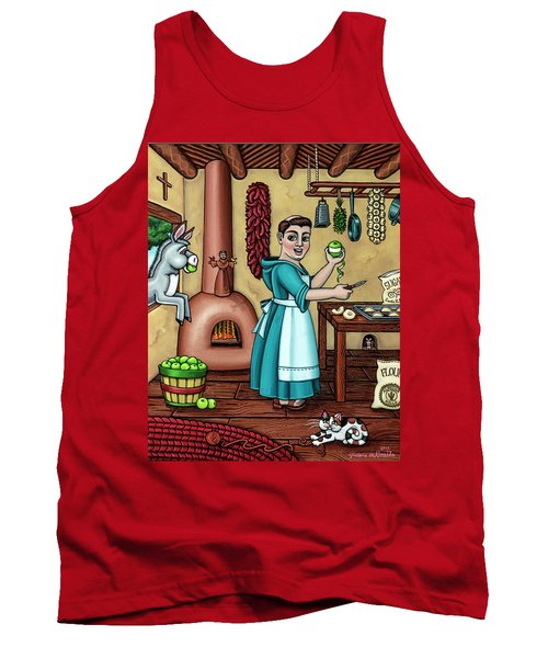Burritos In The Kitchen Tank Top