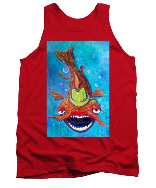 Catfish Clyde Tank Top by Vickie Scarlett-Fisher