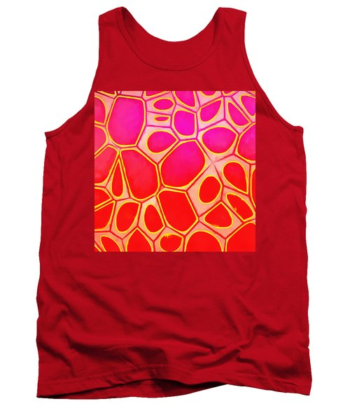 Cells Abstract Three Tank Top