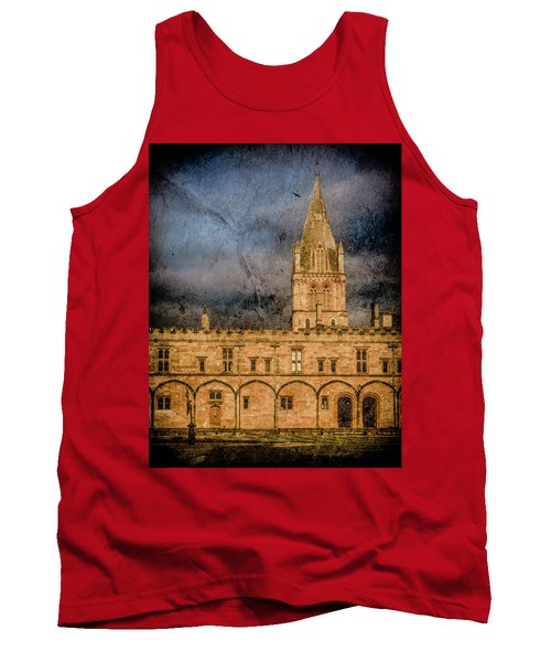 Oxford, England - Christ Church College Tank Top