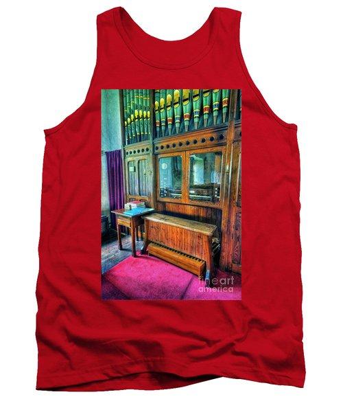 Church Organ Tank Top