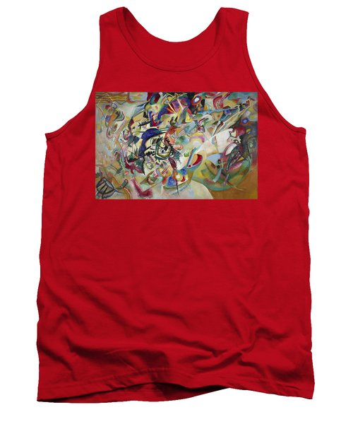 Composition Vii Tank Top by Wassily Kandinsky