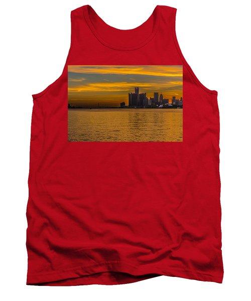 Detroit Sunset Tank Top