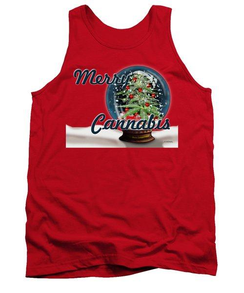 Merry Cannabis Too Tank Top