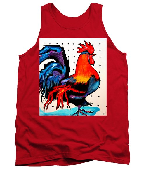Doodle Do Rooster Tank Top