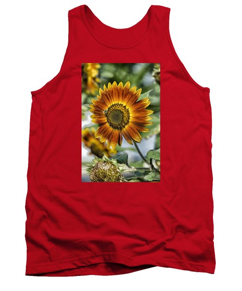 End Of Sunflower Season Tank Top