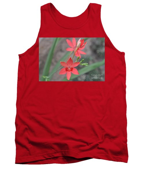 Floating Orchid Tank Top