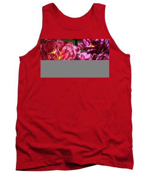 Flowers And Fractals Tank Top