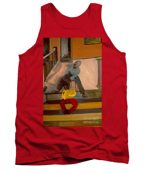 Gettin Braids Tank Top by Daun Soden-Greene
