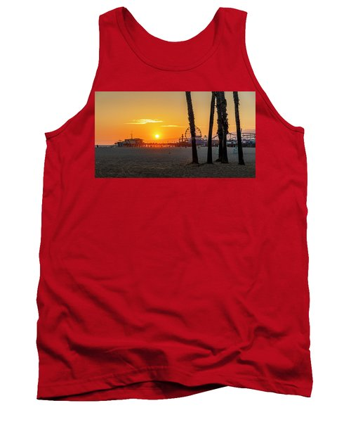 Golden Glow At Sunset Tank Top