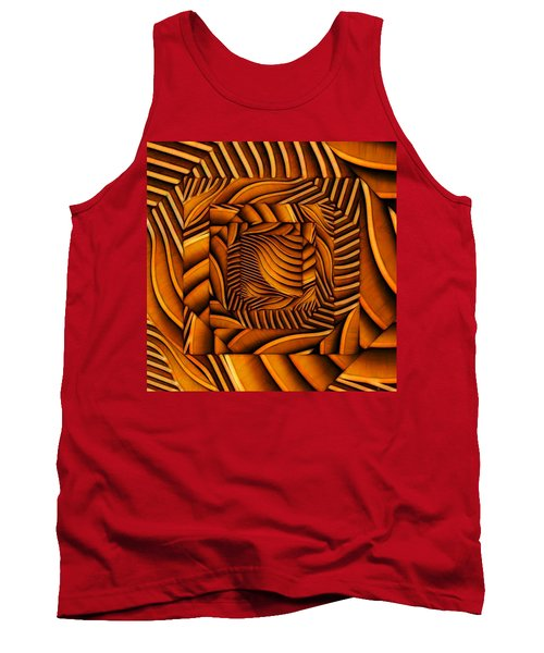 Groovy Tank Top by Ron Bissett