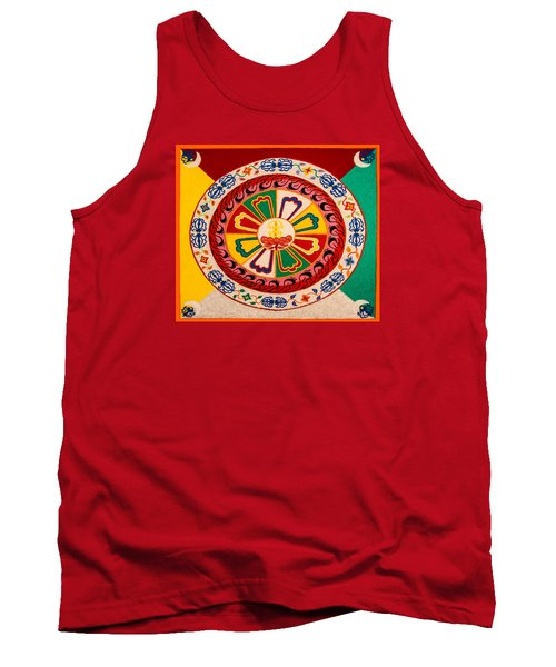 Happiness And Inner Peace Tank Top