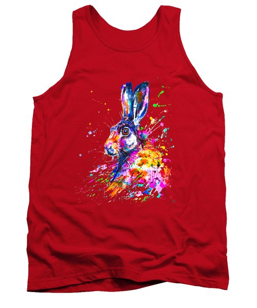 Hare In Grass Tank Top