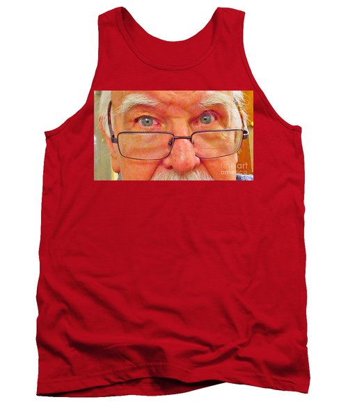 Hello Tank Top by Fred Jinkins