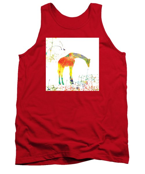 Tank Top featuring the digital art Hello by Trilby Cole