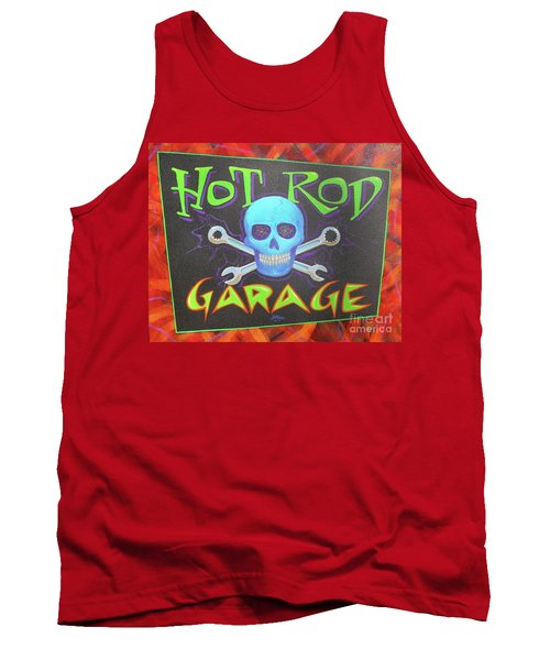 Hot Rod Garage Tank Top