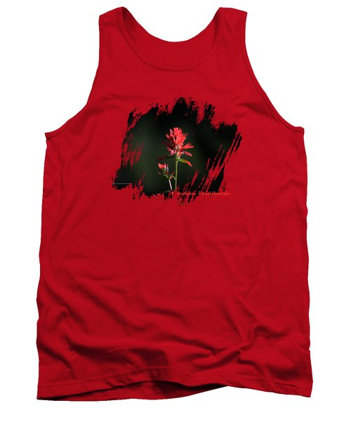 Indian Paintbrush Tank Top