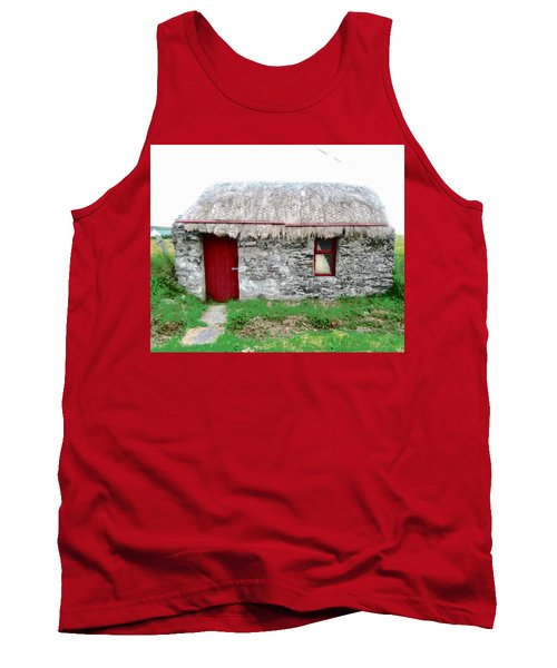 Irish Cottage Tank Top by Stephanie Moore