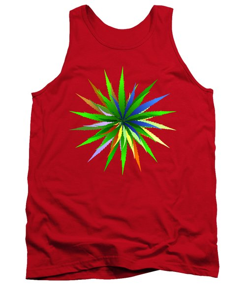 Leaves Of Grass Tank Top