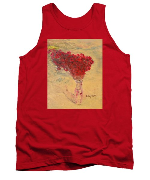 Lest We Forget Tank Top by Evelina Popilian
