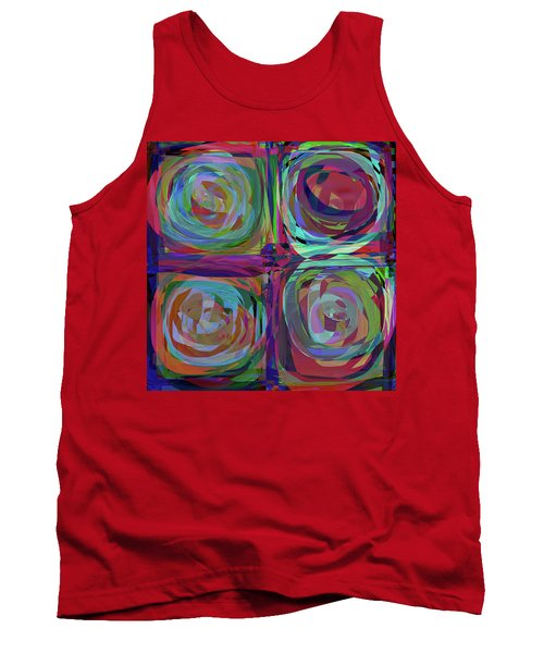 Tank Top featuring the digital art Letter To Kandinsky by Danica Radman
