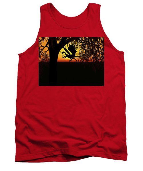 Lights And Shadow Tank Top