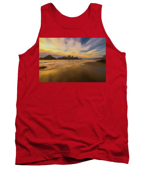 Lines In The Sand 2 Tank Top