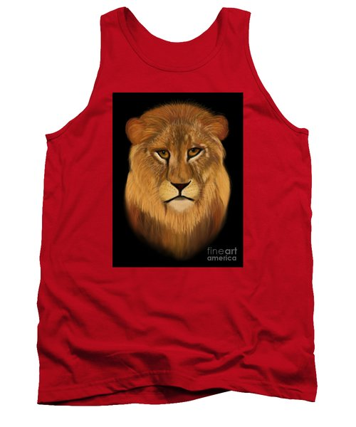 Lion - The King Of The Jungle Tank Top