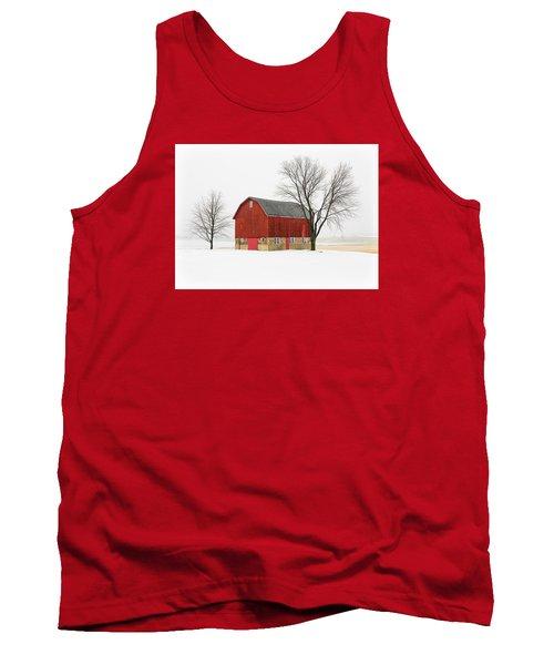 Little Red Barn Tank Top