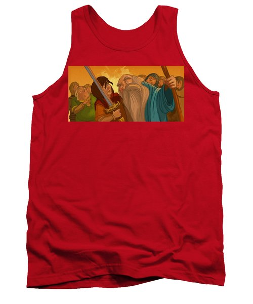 Merlin's Scrutiny Tank Top