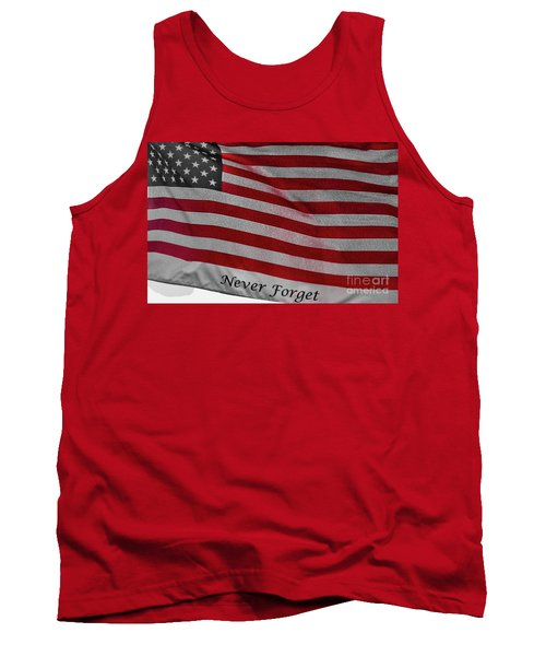 Never Forget Tank Top by Jim Lepard