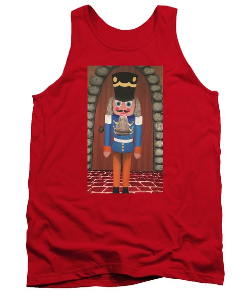 Tank Top featuring the painting Nutcracker Sweet by Thomas Blood