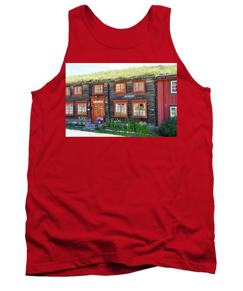 Old House Tank Top by Thomas M Pikolin