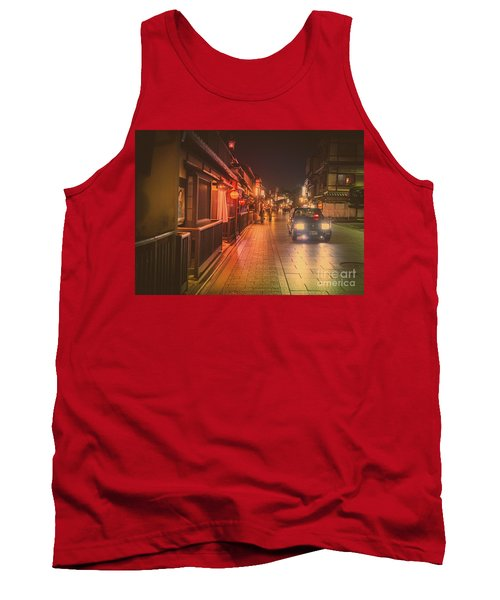 Old Kyoto, Gion Japan Tank Top