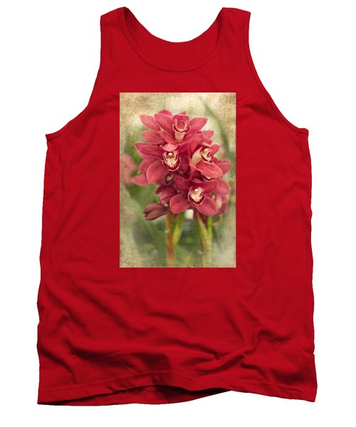 Orchid Tank Top by Catherine Lau