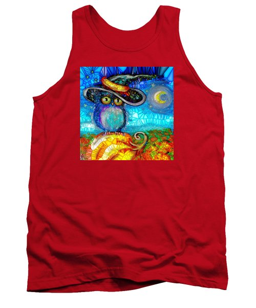 Owl Scare You Tank Top
