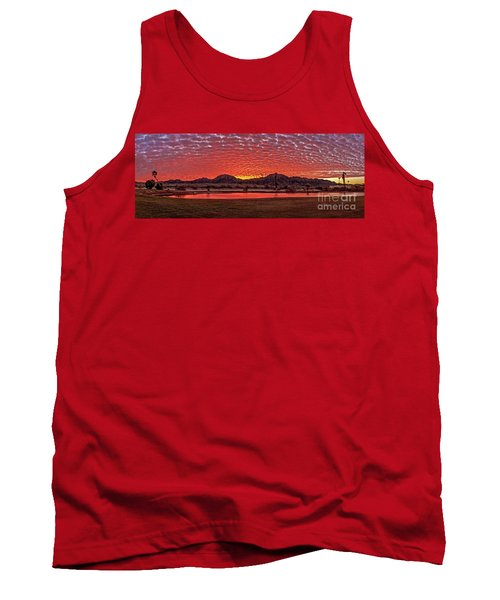Tank Top featuring the photograph Panoramic Sunrise by Robert Bales