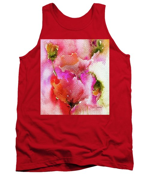 Poppy Garden Tank Top by Linde Townsend