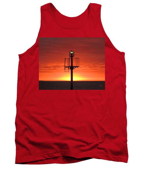 Tank Top featuring the photograph Port Hughes Lookout by Linda Hollis