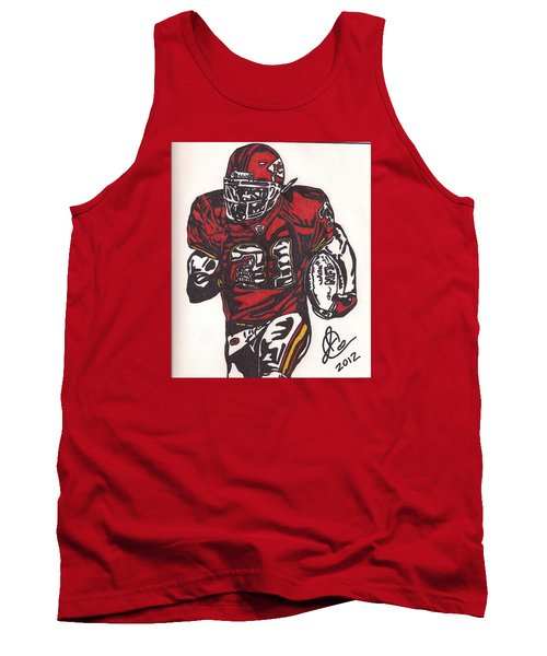 Tank Top featuring the drawing Priest Holmes 2 by Jeremiah Colley