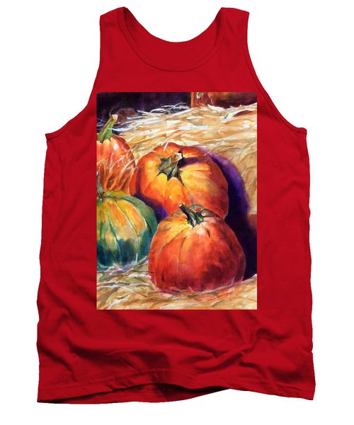Pumpkins In Barn Tank Top