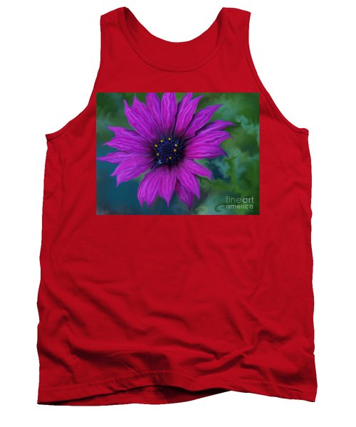 Tank Top featuring the photograph Purple by Trena Mara