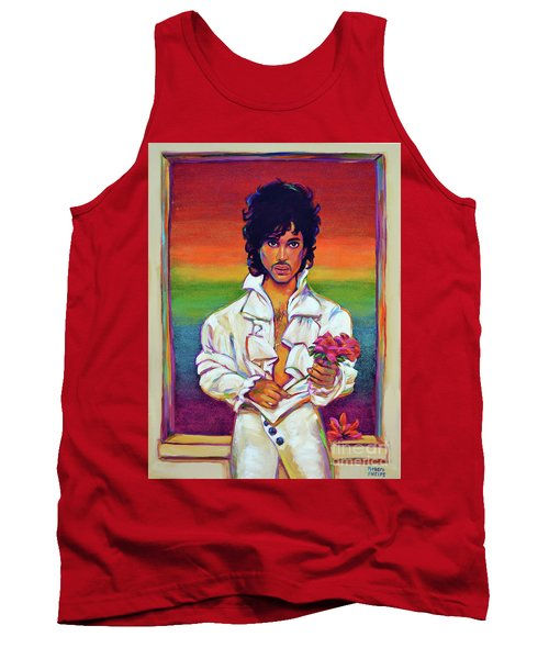 Tank Top featuring the painting Rainbow Child by Robert Phelps