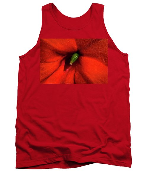 Red And Green Tank Top by Jay Stockhaus