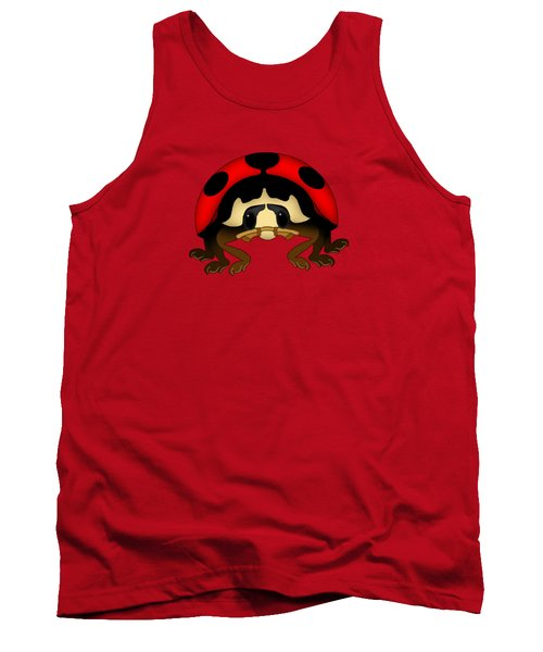 Red Bug Tank Top by Sarah Greenwell
