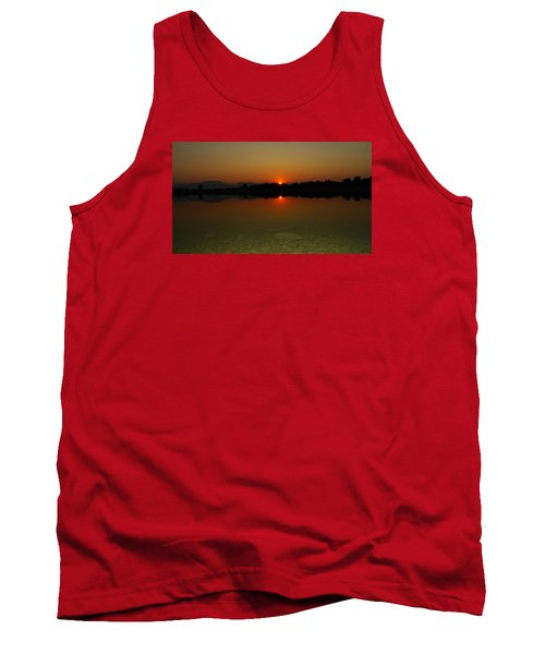 Red Dawn Tank Top by Eric Dee
