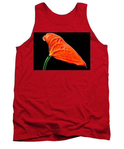 red Lily blossom Tank Top by Werner Lehmann