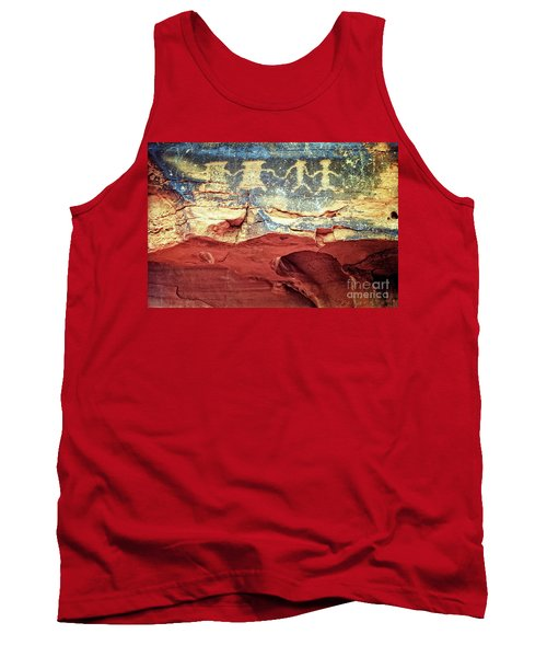 Red Rock Canyon Petroglyphs Tank Top