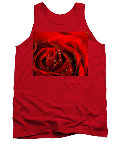 Red Rose 2 Tank Top